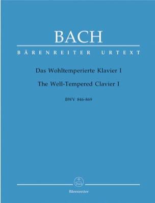 Le Clavier Bien Tempéré - Volume 1 BACH Partition Piano - laflutedepan