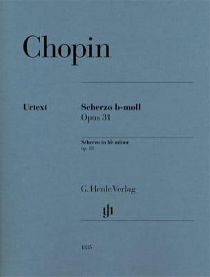 Scherzo en si bémol mineur Opus 31 CHOPIN Partition laflutedepan