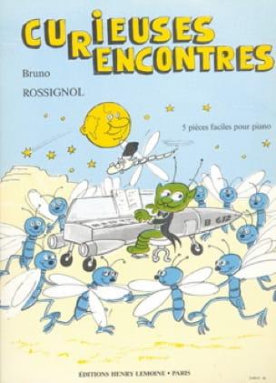 Curieuses Rencontres - Bruno Rossignol - Partition - laflutedepan.com