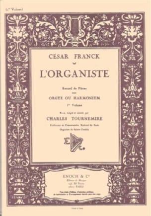 L'Organiste Volume 1 - FRANCK - Partition - Orgue - laflutedepan.com