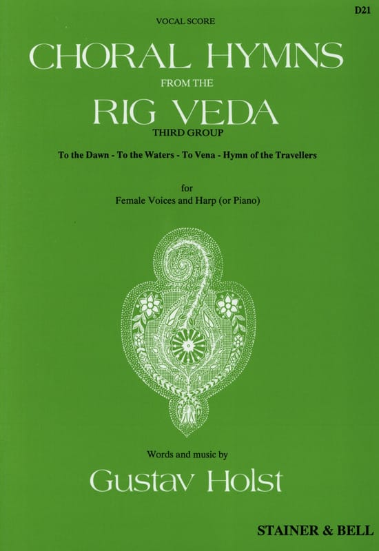 Choral Hymns From The Rig Veda. 3° Groupe - HOLST - laflutedepan.com