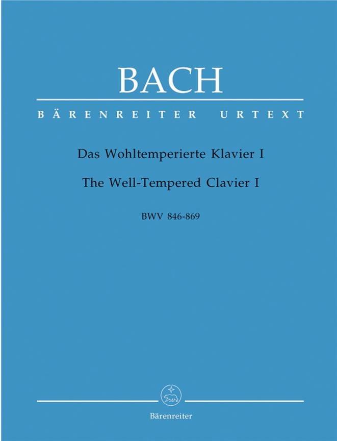 Le Clavier Bien Tempéré - Volume 1 - BACH - laflutedepan.com