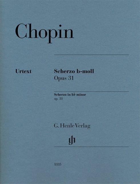 Scherzo en si bémol mineur - CHOPIN - Partition - laflutedepan.com