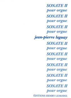 Sonate pour orgue n° 2 Jean-Pierre Leguay Partition laflutedepan