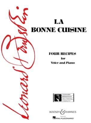 La Bonne Cuisine BERNSTEIN Partition Mélodies - laflutedepan