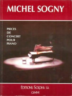 Pièces de Concert pour Piano Michel Sogny Partition laflutedepan