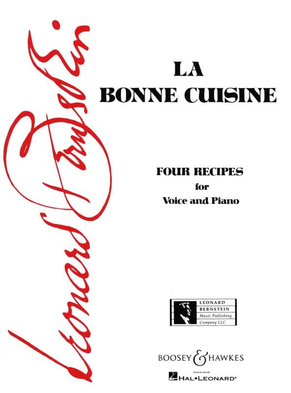 La Bonne Cuisine - BERNSTEIN - Partition - Mélodies - laflutedepan.com