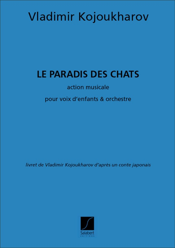 Le Paradis des Chats - Vladimir Kojoukharov - laflutedepan.com
