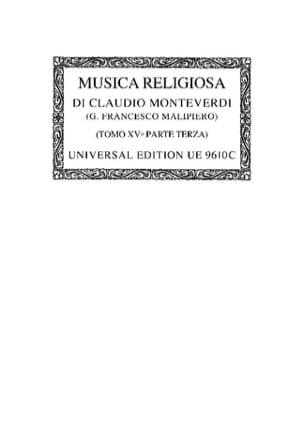 Musica Religiosa 1640/41. Oc15/3 - MONTEVERDI - laflutedepan.com