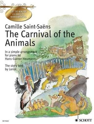 Le Carnaval des Animaux Anglais SAINT-SAËNS Partition laflutedepan