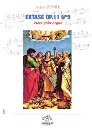 Extase Opus 11 n° 5 Auguste Schirlé Partition Orgue - laflutedepan