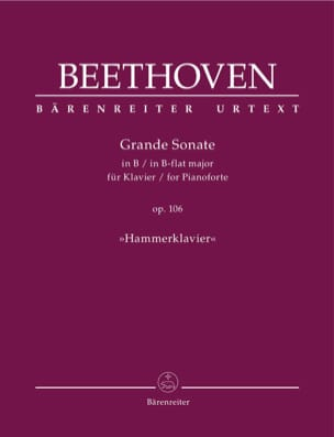 Ludwig van Beethoven - Piano Sonata No. 29 in B Flat Major Op. 106 - Partition - di-arezzo.com