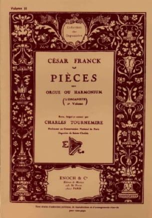 L'organiste Volume 2 - FRANCK - Partition - Orgue - laflutedepan.com