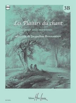 Les Plaisirs Du Chant Volume 3B. Voix Moyenne Partition laflutedepan