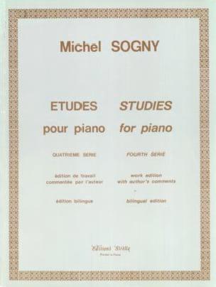 12 Etudes Pour Piano - 4ème Série Michel Sogny Partition laflutedepan