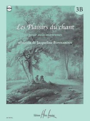 Les Plaisirs Du Chant Volume 3B. Voix Moyenne - laflutedepan.com