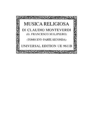 Musica Religiosa : Psalmi E Fragmenti 1649. Oc16/2 laflutedepan