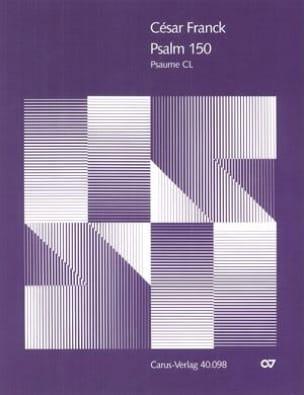 Psaume 150 - FRANCK - Partition - Chœur - laflutedepan.com