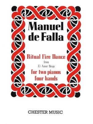 Ritual Fire Dance. 2 Pianos DE FALLA Partition Piano - laflutedepan