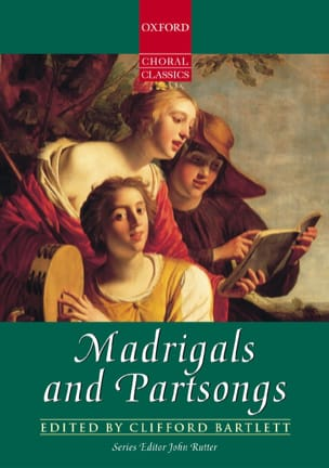 Madrigals And Partsongs Partition Chœur - laflutedepan