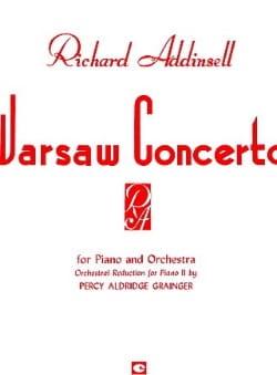 Concerto De Varsovie. Richard Addinsell Partition laflutedepan