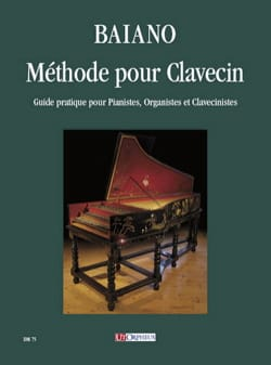 Méthode pour Clavecin Enrico Baiano Partition Clavecin - laflutedepan