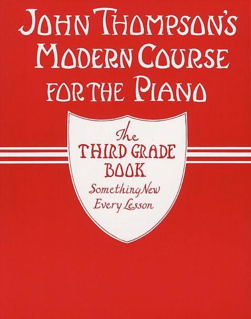Méthode Moderne de Piano Vol 3. - John Thompson - laflutedepan.com