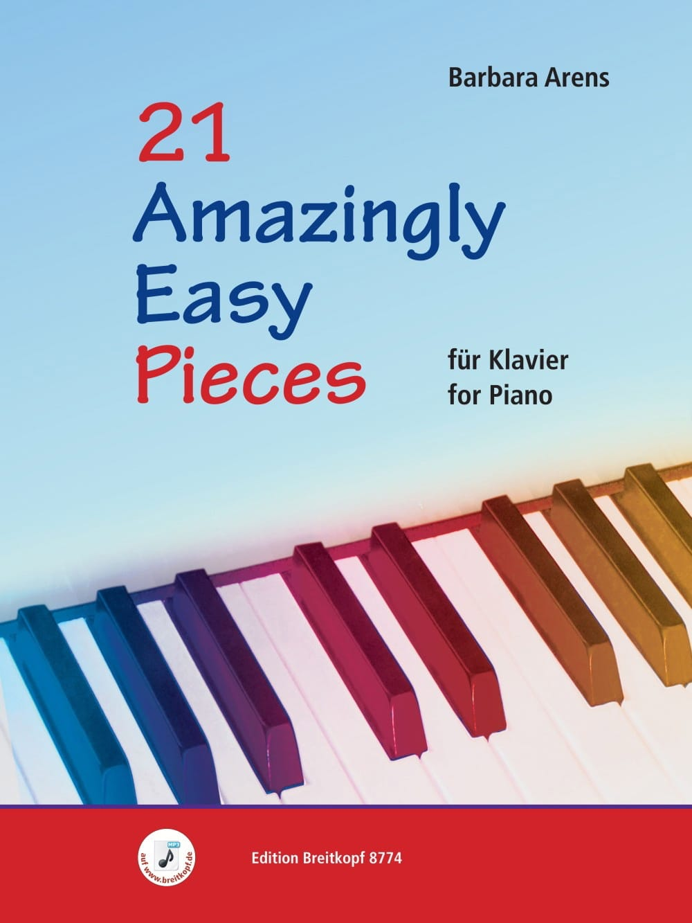21 Amazingly easy pieces - Barbara Arens - laflutedepan.com
