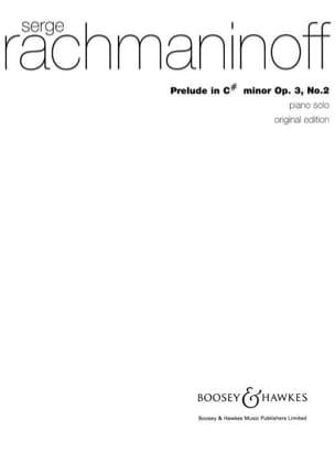 Prélude Opus 3 N°2 en DO dièse mineur RACHMANINOV laflutedepan