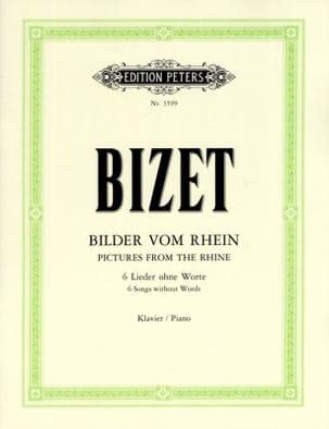 Chants Du Rhin BIZET Partition Piano - laflutedepan