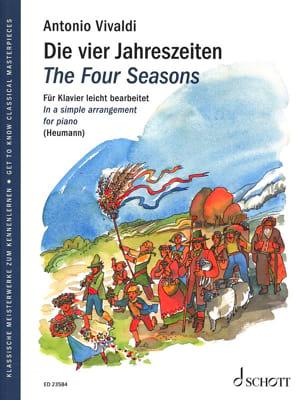 The Four Seasons VIVALDI Partition Piano - laflutedepan