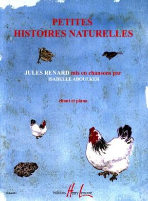 Petites Histoires Naturelles Isabelle Aboulker Partition laflutedepan