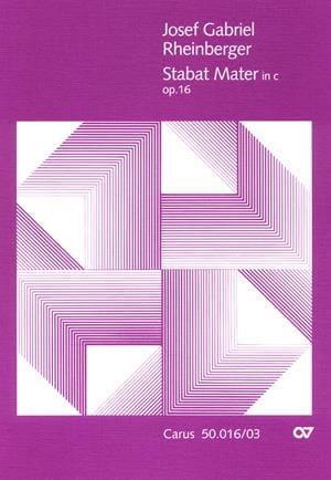 Stabat Mater en ut mineur op.16 - RHEINBERGER - laflutedepan.com
