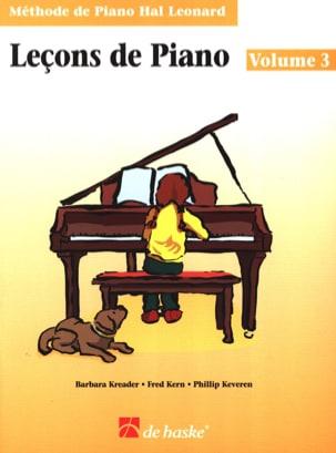 Leçons de Piano Volume 3 laflutedepan