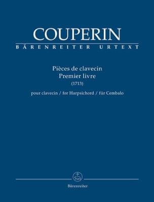 Pièces de Clavecin. 1er livre 1713 COUPERIN Partition laflutedepan