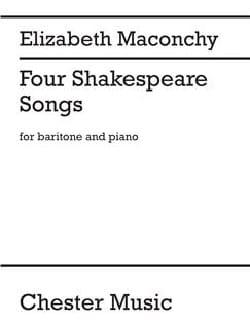 Four Shakespeare Songs - Elizabeth Maconchy - laflutedepan.com
