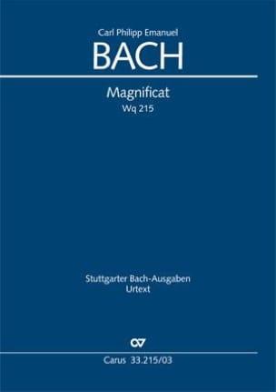 Magnificat Wq 215 Carl-Philipp Emanuel Bach Partition laflutedepan