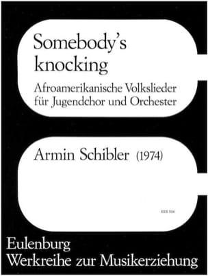 Somebody's Knocking Armin Schibler Partition laflutedepan