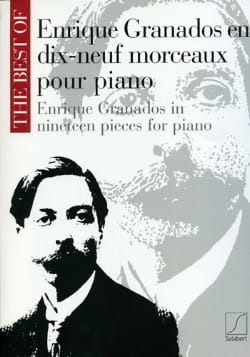 19 Morceaux pour piano GRANADOS Partition Piano - laflutedepan