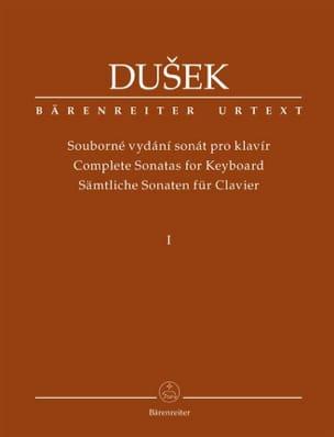 Sonates pour piano. Volume 1 Frantisek Xaver Dussek laflutedepan