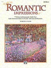 Romantic Impressions Book 4 Divers Partition Piano - laflutedepan