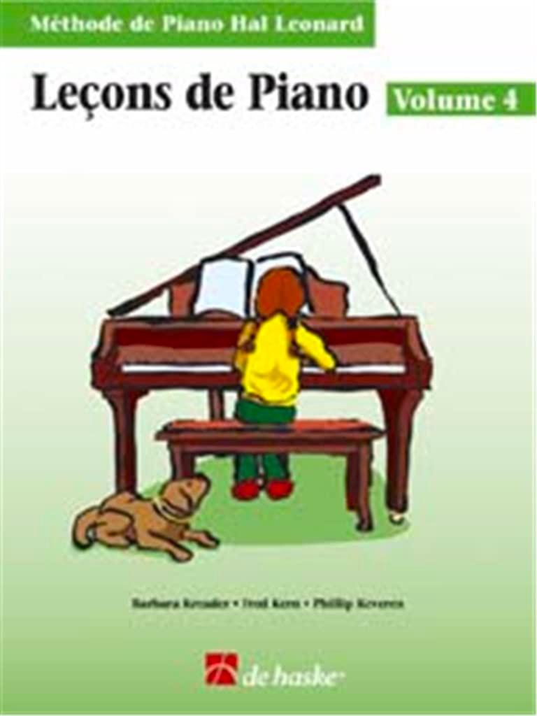 Leçons de Piano Volume 4 - laflutedepan.com