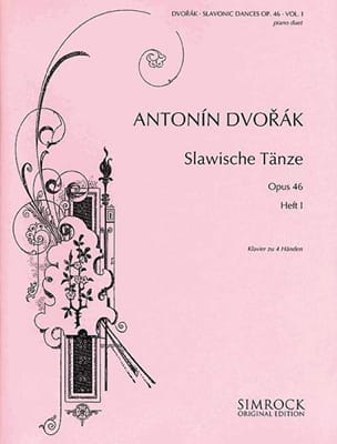 Danses Slaves Opus 46 Volume 1. 4 mains DVORAK Partition laflutedepan