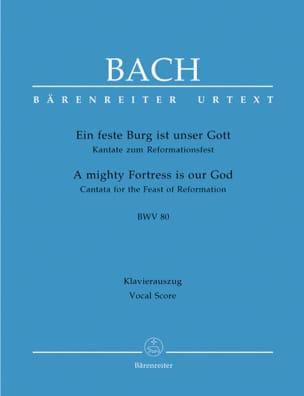 Ein Feste Burg Ist Unser Gott. Cantate Zum Reformationsfest. BWV 80 laflutedepan