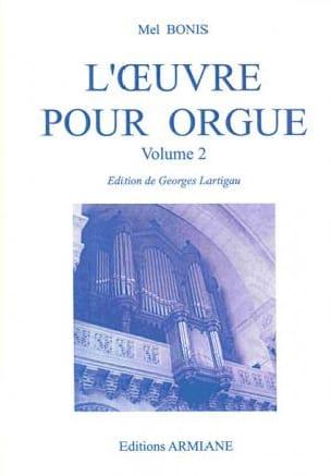 Oeuvre pour orgue Volume 2 - Mel Bonis - Partition - laflutedepan.com