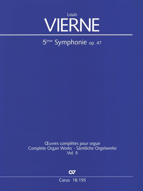 Symphonie n° 5 en la mineur op. 47 - VIERNE - laflutedepan.com