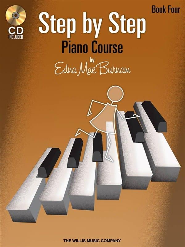 Step by Step Piano Course Volume 4 + CD - laflutedepan.com