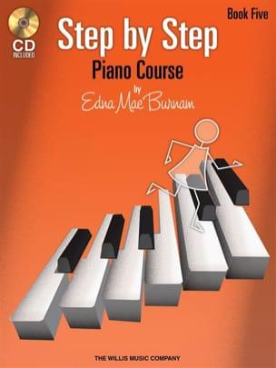 Step by Step Piano Course Volume 5 Edna-Mae Burnam laflutedepan