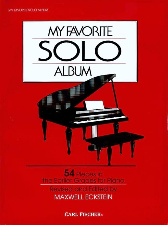 My Favorite Solo Album - Partition - Piano - laflutedepan.com