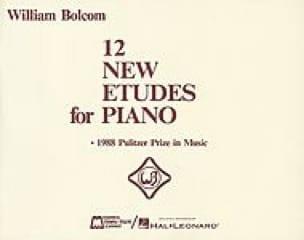 12 New Etudes For Piano - William Bolcom - laflutedepan.com